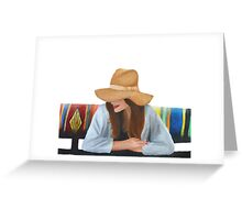 Miss Mia Greeting Card