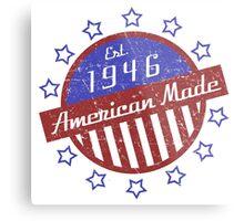 1946 American Made Metal Print
