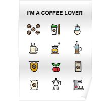 i'm a coffee lover Poster