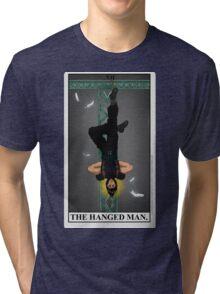 Zack Fair Tarot  Tri-blend T-Shirt