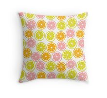 Pretty Citrus Throw Pillow