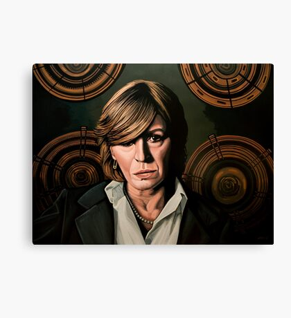 Marianne Faithfull Painting Canvas Print