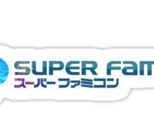 Vaporwave Famicom Sticker