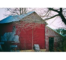 This Old Barn Photographic Print
