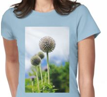 Giant Globe Thistle Womens Fitted T-Shirt