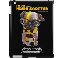 HAIRY SNOTTER PEE WEE iPad Case/Skin