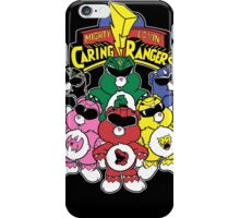 Caring Rangers iPhone Case/Skin