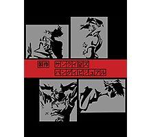 Cowboy Bebop - Group BW Photographic Print