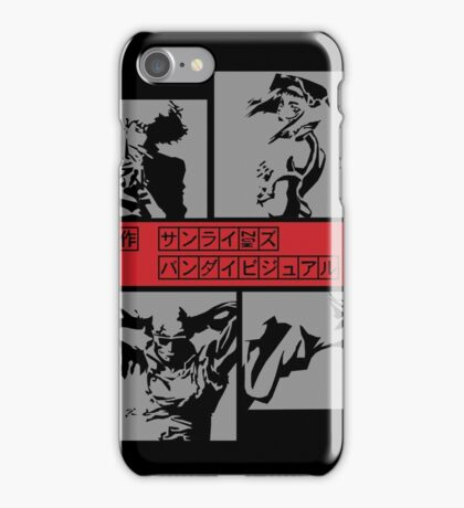 Cowboy Bebop - Group BW iPhone Case/Skin