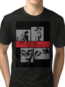 Cowboy Bebop - Group BW Tri-blend T-Shirt