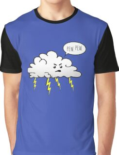 Angry Cloud Graphic T-Shirt