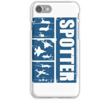 Aircraft spotters iPhone Case/Skin