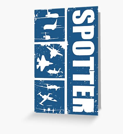 Aircraft spotters Greeting Card