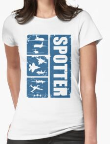 Aircraft spotters Womens Fitted T-Shirt