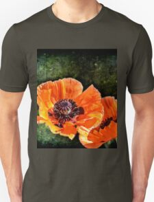 Oriental Poppies family Unisex T-Shirt