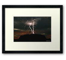 Wrath of Uluru - Limited Edition Print 1/10 Framed Print