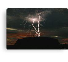 Wrath of Uluru - Limited Edition Print 1/10 Canvas Print