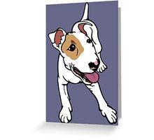 I'm Frank Bull Terrier  Greeting Card