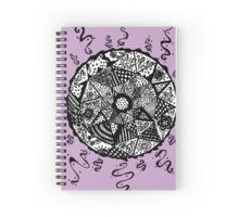 Random Expressions (The Lilac Collection) Spiral Notebook