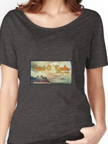Point Of Rocks - Orange Women's Relaxed Fit T-Shirt