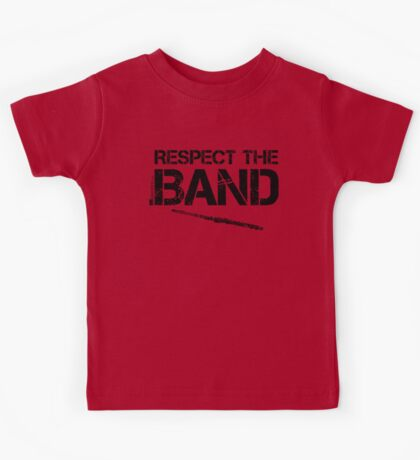Respect The Band - Flute (Black Lettering) Kids Tee