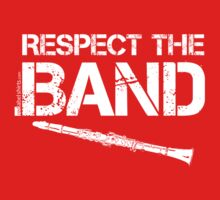Respect The Band - Clarinet (Black Lettering) Kids Tee