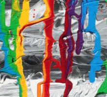 A Triumph of Color Sticker