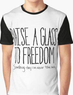 Raise A Glass Graphic T-Shirt