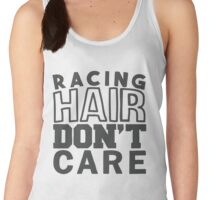 Racing hair don't care Women's Tank Top