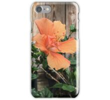 Orange Hibiscus iPhone Case/Skin