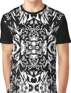 Dark Geometric Life Graphic T-Shirt