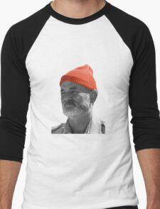 Steve Zissou Red Cap Men's Baseball ¾ T-Shirt