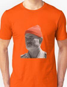 Steve Zissou Red Cap Unisex T-Shirt