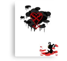 Heartless Canvas Print