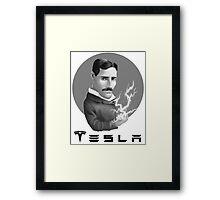Nikola Tesla Motors Framed Print