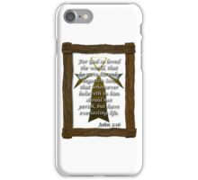 John 3:16 King James iPhone / Samsung Galaxy Case iPhone Case/Skin