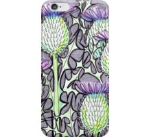 Inked Thistles iPhone Case/Skin