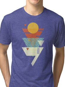 Sun. Sea. Sand. Shark. Tri-blend T-Shirt