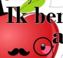 Pardon, Ik ben een appel Sticker