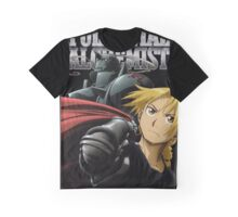 Edward Elric and Alphonse Elric Graphic T-Shirt