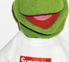 Kermit supreme  Sticker