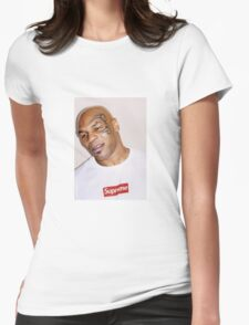 Mike Tyson supreme  Womens Fitted T-Shirt