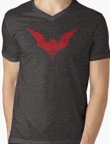 Batwoman Symbol Mens V-Neck T-Shirt