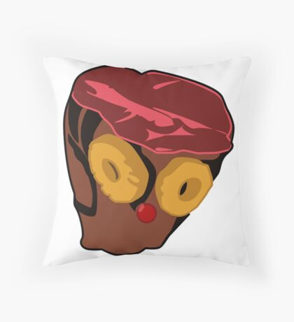 Where's The Rum Ham Throw Pillow