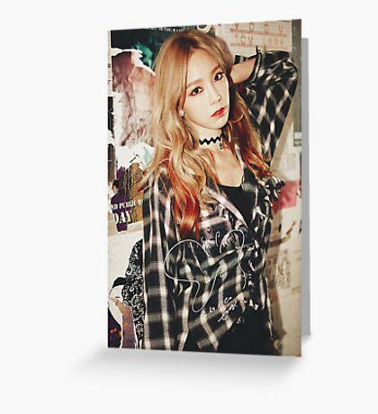 Girl's Generation Taeyeon SNSD I Signature Greeting Card