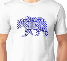 Celtic Pattern Bear Unisex T-Shirt