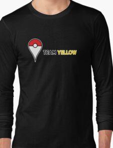 PokeGO Team Yellow Long Sleeve T-Shirt