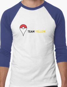 PokeGO Team Yellow Men's Baseball ¾ T-Shirt
