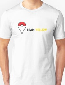 PokeGO Team Yellow Unisex T-Shirt