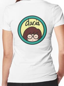 Daria Women's Fitted V-Neck T-Shirt